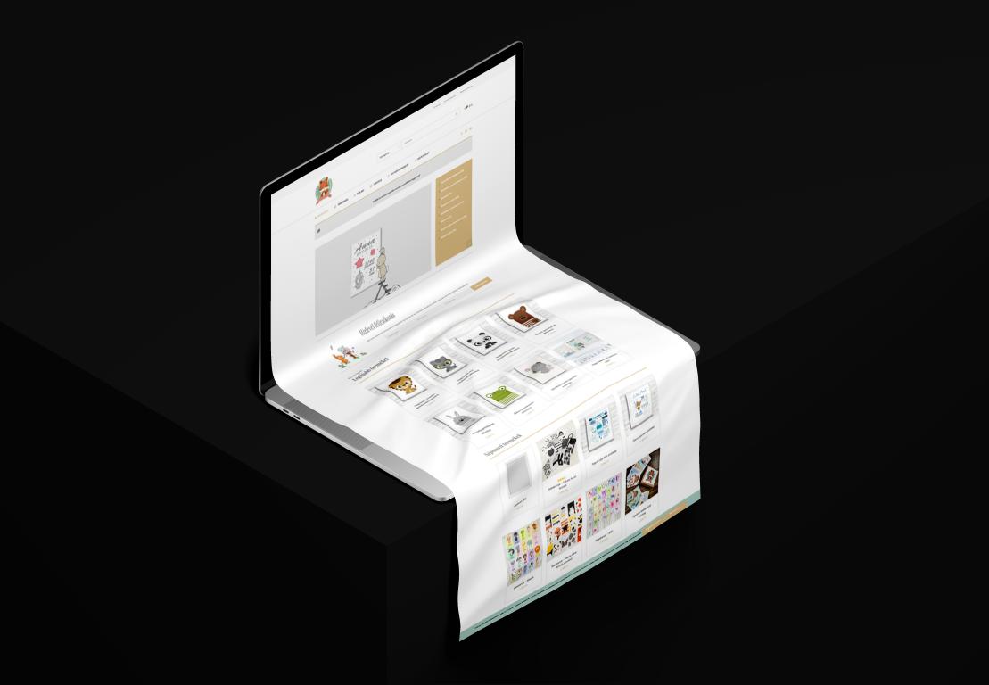 Minifalva webshop készítés referencia