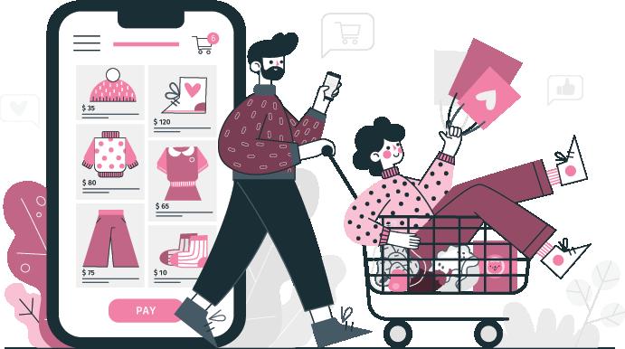 Webshop készítés - Ha szolgáltatást vagy terméket árulsz akkor elengedhetetlen, hogy rendelkezz egy profi online bolttal, ahol a vásárlók megtalálják az üzletedet és az interneten keresztül rendelik meg a termékeidet.
